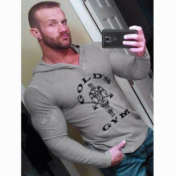 Les manches sont pour Nerds T-shirt sans manches-Gold Rush Gym Lifting