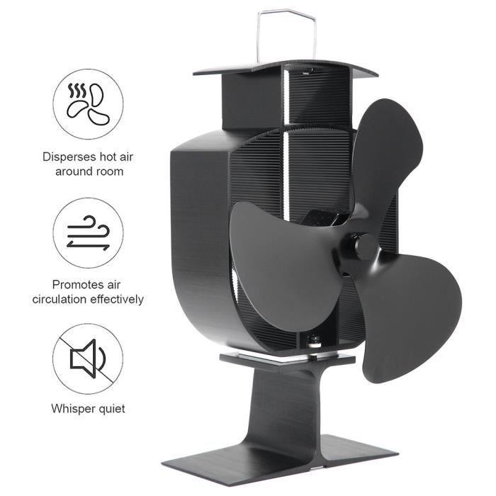 VENTILATEUR Ventilateur de chauffage AVEC  3 Pales à combustio