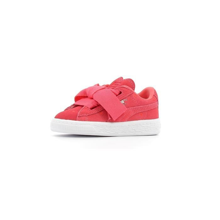 finest selection cbfee 29019 Baskets basses Puma Inf Suede Heart Valentine Kids EtJ7Wj5W ...