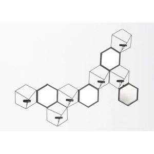 Stickers muraux geometrique achat vente stickers for Decoration murale geometrique