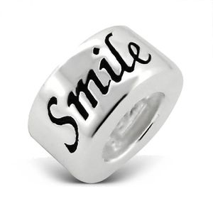 Charm's Women's Happy Smile Sterling Silver Charm Bead - S