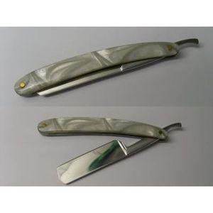 RASOIR MÉCANIQUE rasoir coupe choux nacré/gris