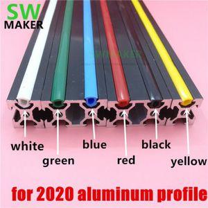 iplusmile Couvercle de Fente de Profil en Aluminium Joint Plat 2020 pour Imprimante 3D Bleu