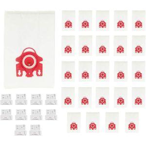 SAC ASPIRATEUR Kit de Sacs Aspirateur, 25 Sacs + 10 Microfiltres