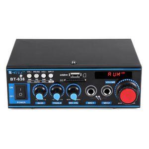 AMPLIFICATEUR HIFI NEUFU Amplificateur Audio stéréo HiFi - Télécomman