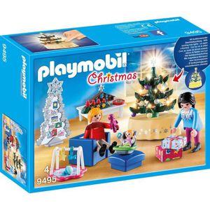 UNIVERS MINIATURE PLAYMOBIL 9495 - Christmas - Famille et salon de N