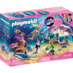 UNIVERS MINIATURE PLAYMOBIL 70095 - Coquillage lumineux avec sirènes
