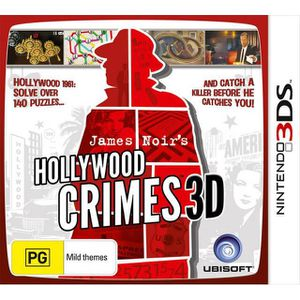JEU 3DS James noir's hollywood crimes 3D - Nintendo 3DS -