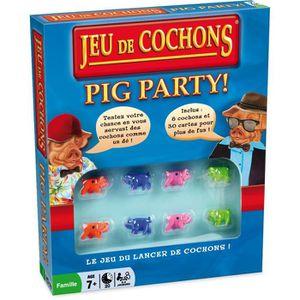 DÉS - JEU DE DÉS JEU DE COCHONS - Pig Party - Version française