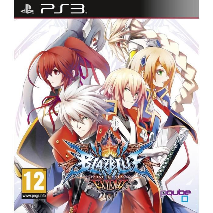 BlazBlue Chronophantasma Extend Jeu PS3