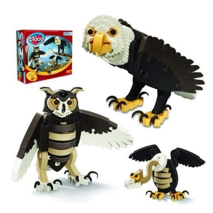 Jeu D'Assemblage BZINZ Oiseaux de proie Bloco Jouets Toy Kit de construction