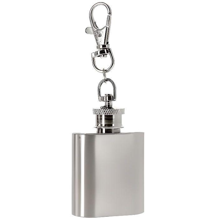 flasque alcool avec porte clé