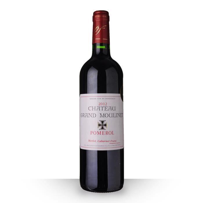 Château Grand Moulinet 2012 Rouge 75cl AOC Pomerol - Vin Rouge