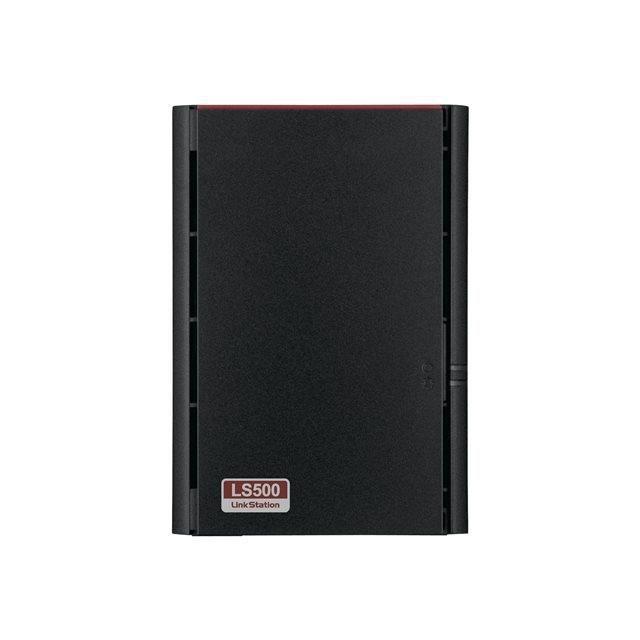 BUFFALO Système de stockage NAS LinkStation LS520D - 2 x Total de compartiments Dual-core (2 cœurs) 1,10 GHz - 256 Mo RAM