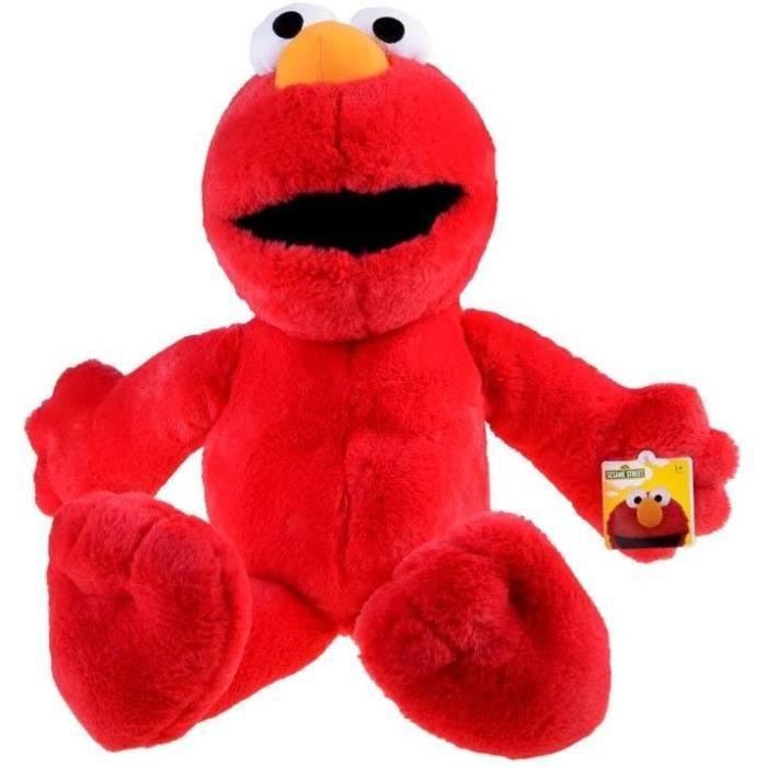 Sesame Street Jouet en Peluche Souple Elmo de 60 cm