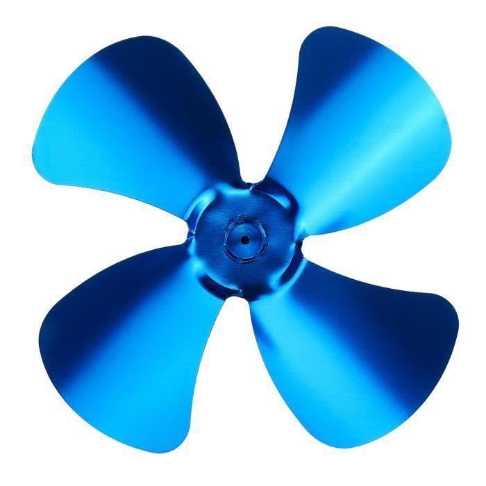 4 Lame Pale De Ventilateur Couleur Multiple Accessoires Pour Ventilateur De Poêle Bleu