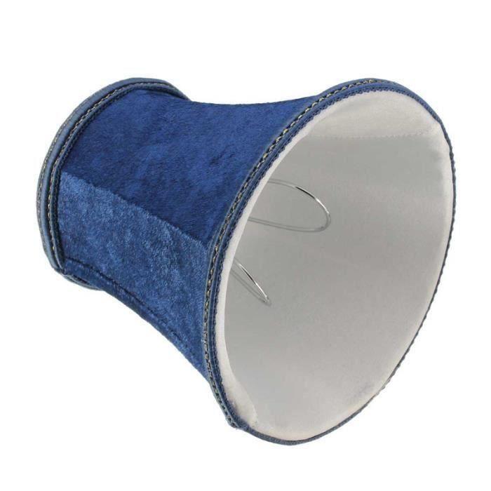 U Abat-jour abat jour vendu seul lampe de table de bureau 80*120*110mm Bleu profond Aw08192