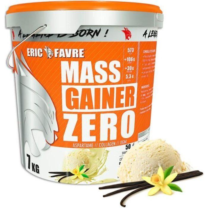 Eric Favre - Protéines - Mass Gainer Zero Vanille - Gainers - Vanille