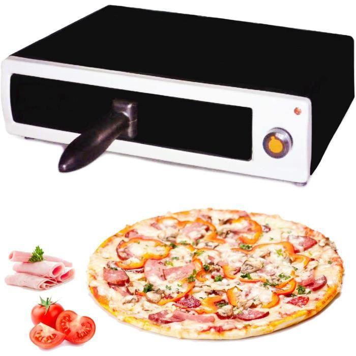FOUR A PIZZA MovilCom® - Four à pizza &eacutelectrique - Four de table &eacutelectrique - Mini four à pizza -36