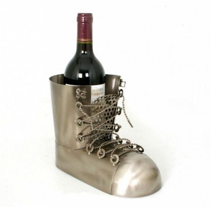 Porte bouteille métal Chaussure
