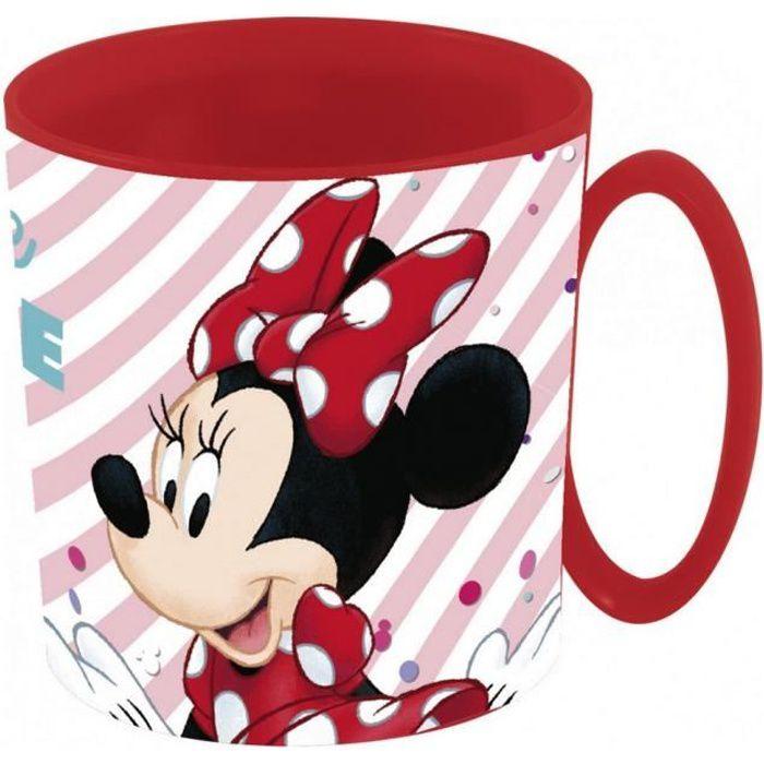 Tasse plastique Minnie Mouse Mug enfant Micro onde raye GUIZMAX