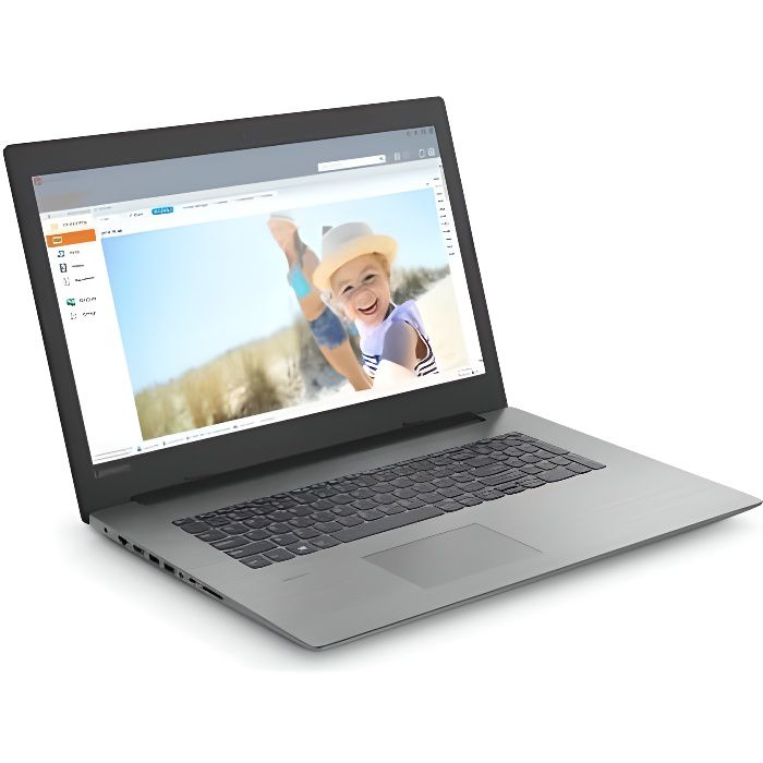 Ordinateur portable Lenovo Ideapad 330 17Ast Amd A9 9425 Ram 4Go Stockage 1To Amd Radeon R5 Windows 10
