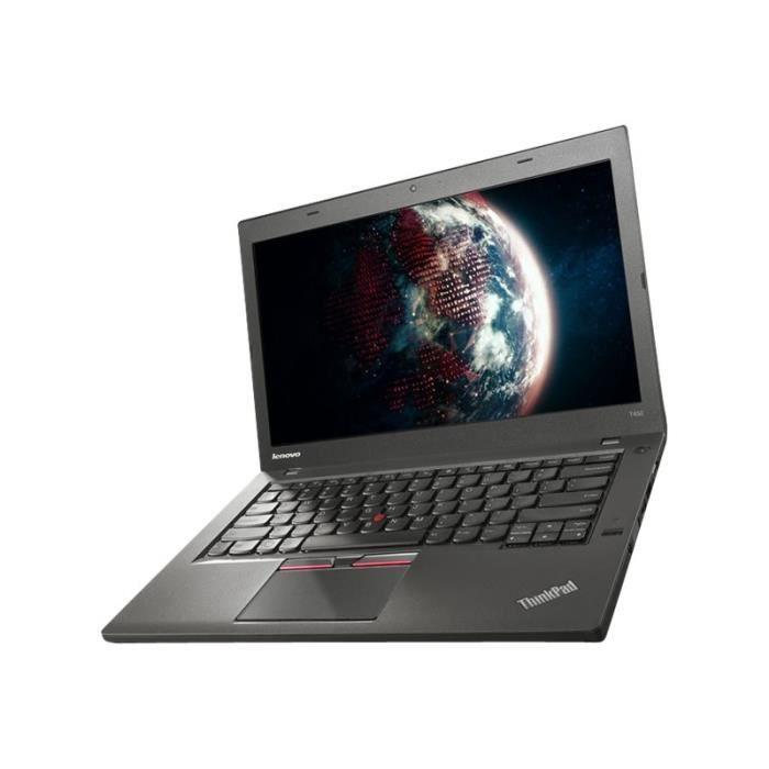 """Lenovo Thinkpad T450 20Bu Core i5 5300U 2.3 Ghz Win 7 Pro 64 bits 4 Go Ram 500 Go Hdd 14"""" Tn 1366 x 768 (Hd) Hd Graphics 5500..."""