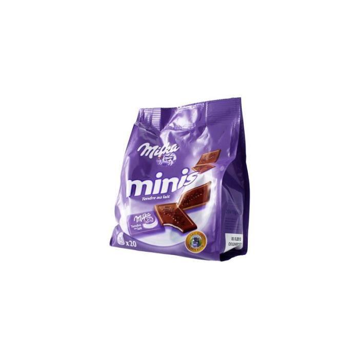 Milka Minis Tendre au Lait (lot de 3)