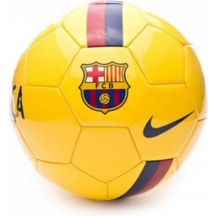 Nouveau Ballon Officiel Jaune Nike Fc Barcelone Taille 5
