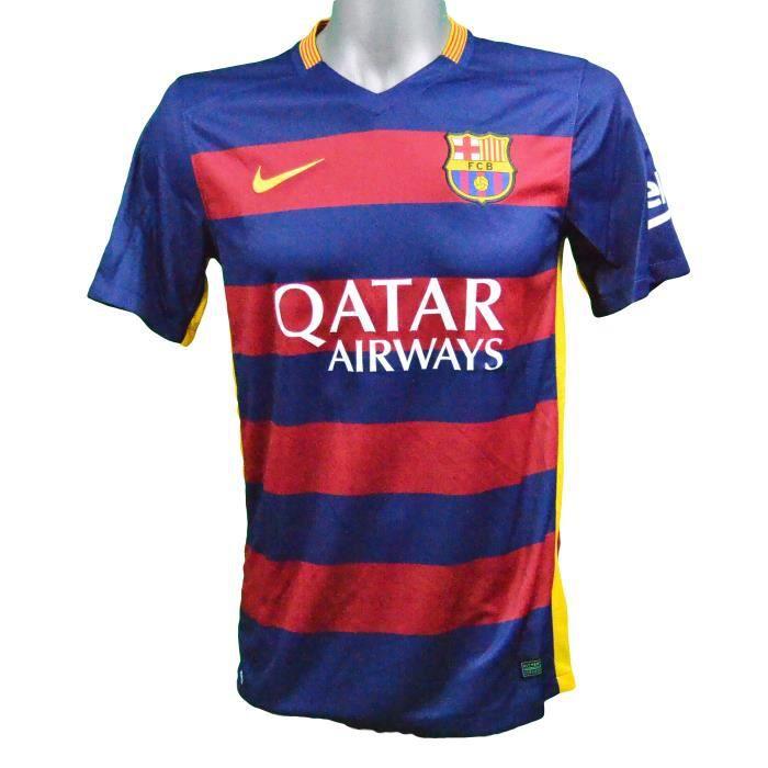Maillot domicile FC Barcelone 2015/2016 Suarez