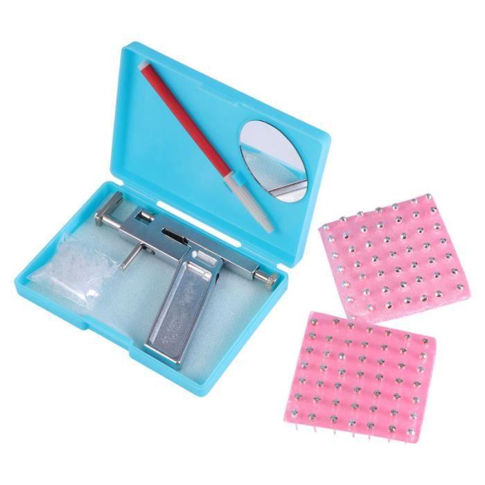 1 kit de perçage d'oreille sans douleur outil de professionnel en acier inoxydable COFFRET HYGIENE NEZ - COFFRET HYGIENE OREILLE