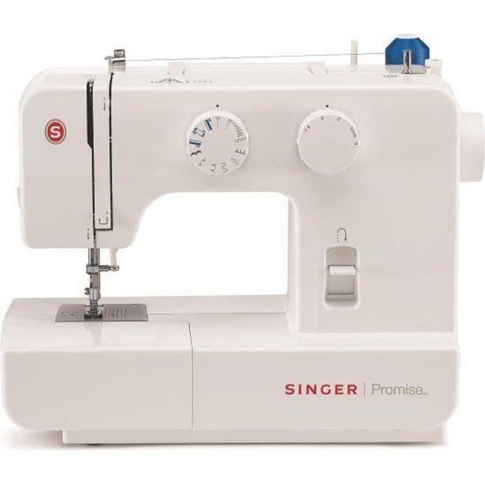 SINGER PROMISE II – MC 1409 Machine à coudre - 9 Programmes - Blanc