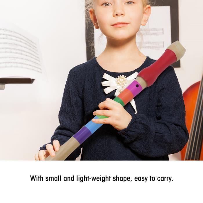 Jouets éducatifs De Musique De Flûte En Bois D/'enfants Légers Faciles à