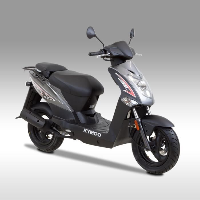 kymco agility 50cc mmc 4t gris achat vente scooter. Black Bedroom Furniture Sets. Home Design Ideas
