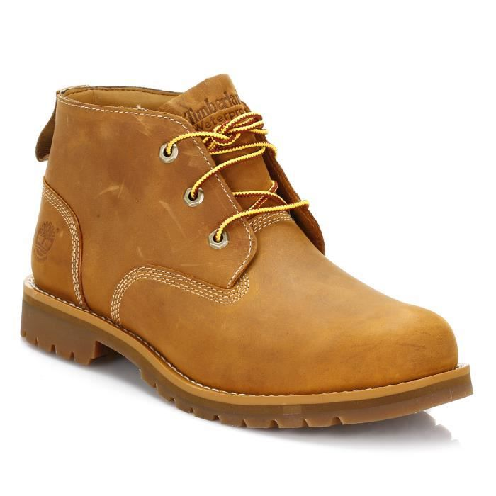 timberland homme wheat larchmont waterproof chukka botte yellow achat vente botte les. Black Bedroom Furniture Sets. Home Design Ideas