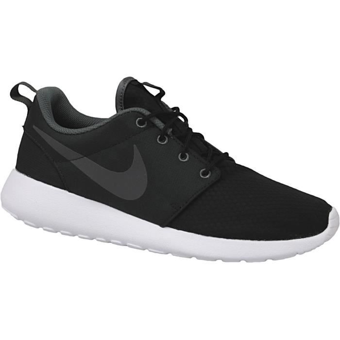 BASKET Nike Roshe One SE 844687-004 Homme Baskets Noir