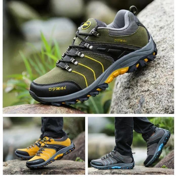 Homme Chaussures de randonnée Basses Marche Sport 39 44