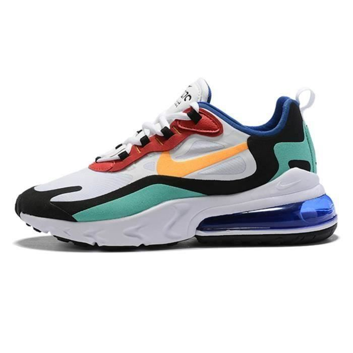 Nike Baskets Air Max 270 React Chaussures de Course femme ...