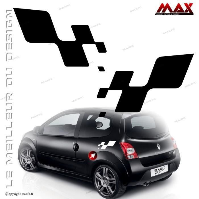 stickers renault twingo 2 achat vente stickers renault. Black Bedroom Furniture Sets. Home Design Ideas