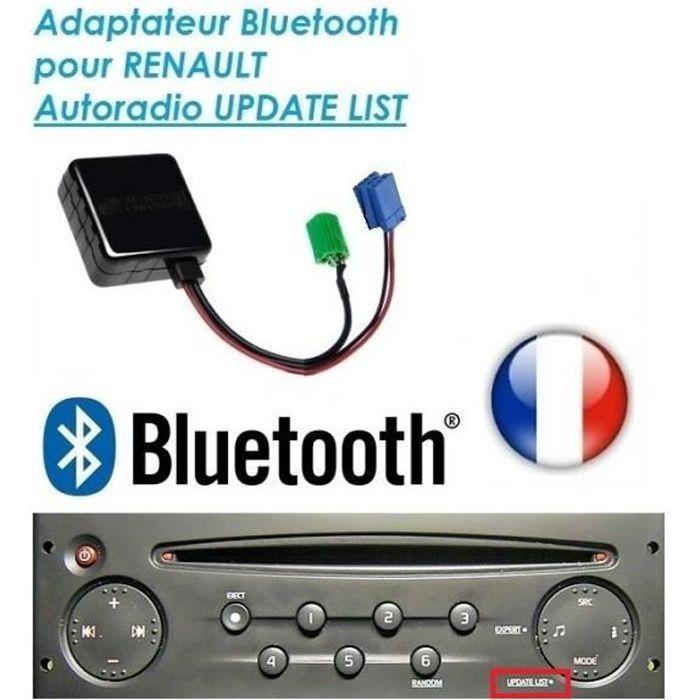 Kenwood 1din mp3 USB CD AUX autoradio pour Renault Laguna 3 à partir de 2008