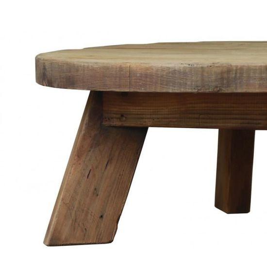 basse ronde CHALET 90 cm Collection Table kOTPXiZu
