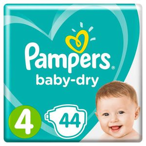 COUCHE Couches baby dry T4 x 44 Pampers