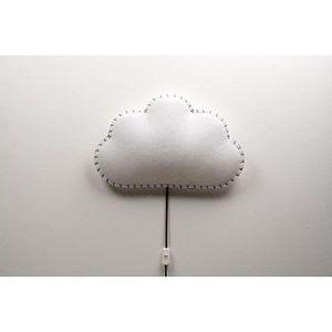 APPLIQUE  Applique nuage - Gris