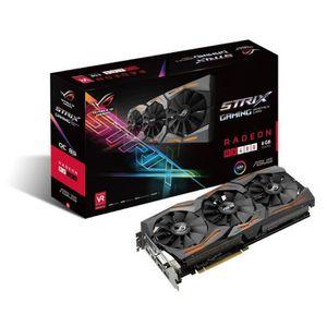 CARTE GRAPHIQUE INTERNE Asus Carte graphique Radeon ROG STRIX RX480 O8G Ga