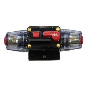 Ytian 100A Auto Disjoncteur Protection De Voiture 12V 24V DC avec Commutateur Manuel De R/éinitialisation De Fusible