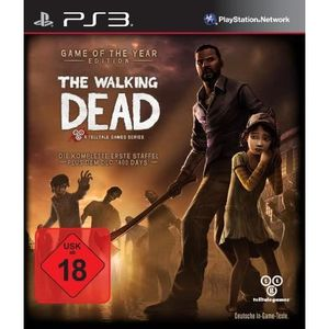 JEU PS3 THE WALKING DEAD - GAME OF THE YEAR EDITION