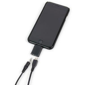 CÂBLE TÉLÉPHONE Adaptateur audio ''jack'' pour iPhone X (5,8