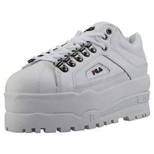 BASKET Fila Trailblazer Wedge Femme Baskets Coin Blanc Bl