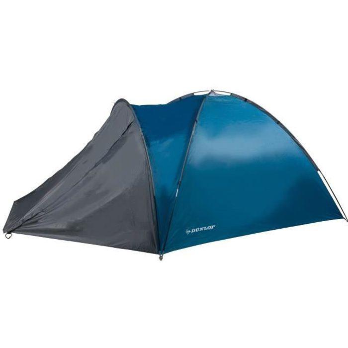 DUNLOP Tente 2 Personnes Bleu