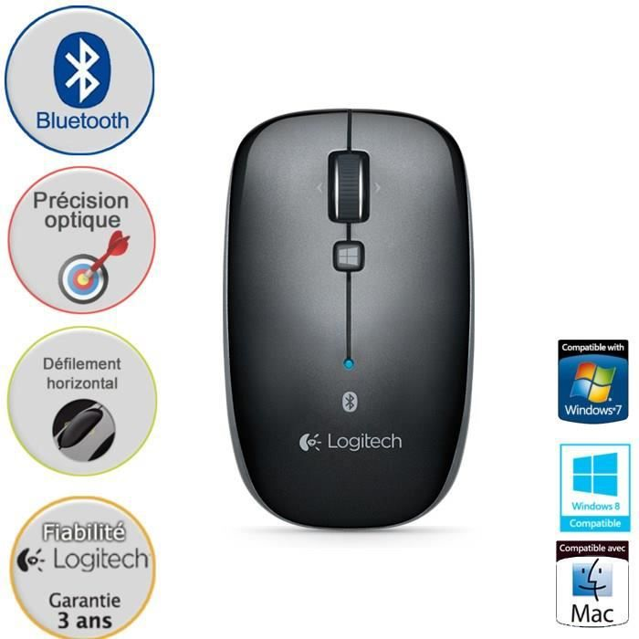 logitech souris sans fil bluetooth optique m557 prix pas cher cdiscount. Black Bedroom Furniture Sets. Home Design Ideas